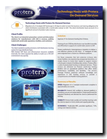 AppCare 3T On-Demand Hosting from Protera PDF Link