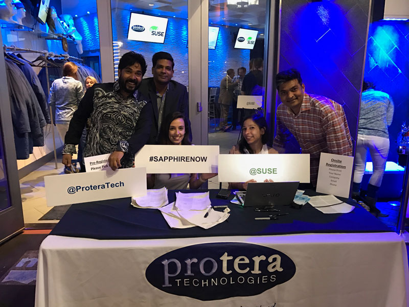 Photo of Protera Sapphire Booth