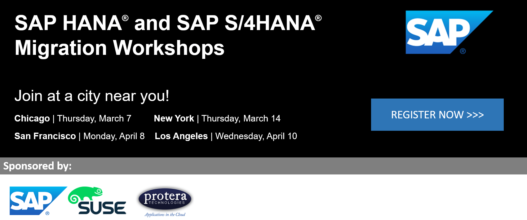 SAP HANA Migration Workshops and SAP S/4HANA Migration Workshops 2019