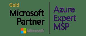 Gold Microsoft Partner/ Azure Expert MSP Logo