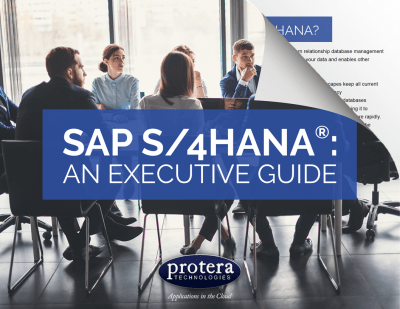 SAP S/4 HANA Executive Guide