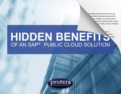Hidden Benefits of an SAP Public Cloud Solution eBook
