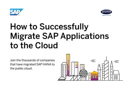 How to Successfully Migrate SAP Applications to the Cloud
