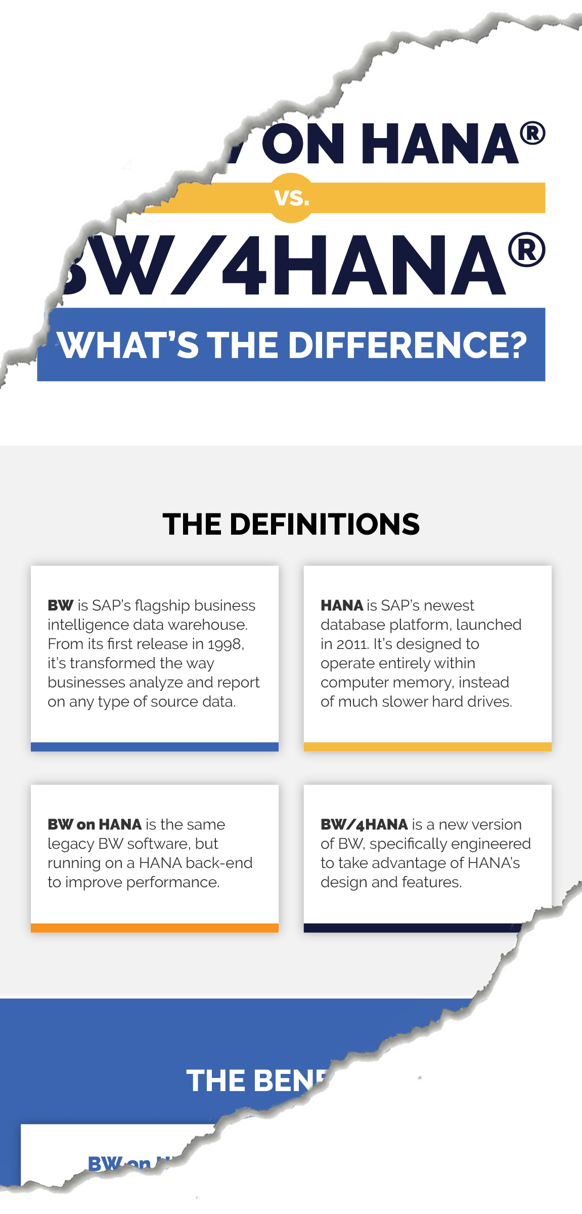 SAP BW on HANA vs SAP BW/4HANA: What's the difference