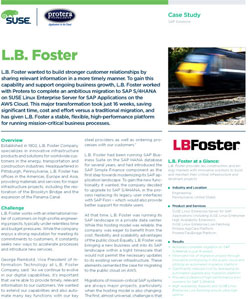 LB Foster Case Study PDF Link